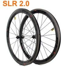 700c Bicycle Carbon Wheelset 30 38 47 50 60 88mm Tubular Clincher Tubeless Road Bike Wheels Low Resistance Ceramic Hub Elite SLR цена 2017