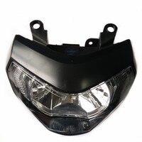 Modified motorcycle part mt09 front lamp white light headlamp headlight H4 halogen bulb For YAMAHA MT09 FZ09 MT 09 2014 2016