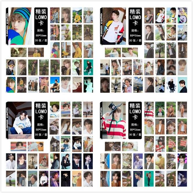 30pcs/set Kpop Bangtan Boys Summer Album Photocard Good Quality Bangtan Boys Photo Lomo Card Bangtanboys New Arrivals Kpop