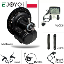 Motor-Kit Bicycle-Conversion-Kit Ebike Mid-Drive Tongsheng Tsdz2 36v 250w 48v 500w