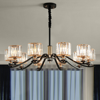 k9 Clear crystal Modern chandelier lighting for living room dinning room Chandelier lights Crystal k9 chandeliers Crystal Lights chandelier lighting modern crystal lights export k9 crystal chandelier candle chandeliers crystal villa living room chandelier