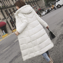 women cotton jacket new 8 color winter M-6XL large size hooded shirt Slim solid Female coat
