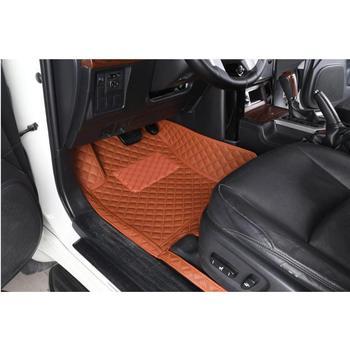 3D Car Floor Mats For ford  kyga  2013-2018 Leather Floor Mat Fashion Car Interior Carpet Mat made in irkutsk Custom