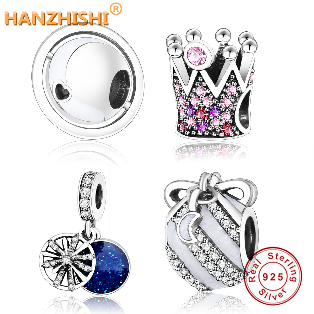 Fits Original Pandora Charm Bracelet DIY Berloque 2018 New Winter Collection 925 Sterling Silver Chiselled Elegance Charms Beads(China)
