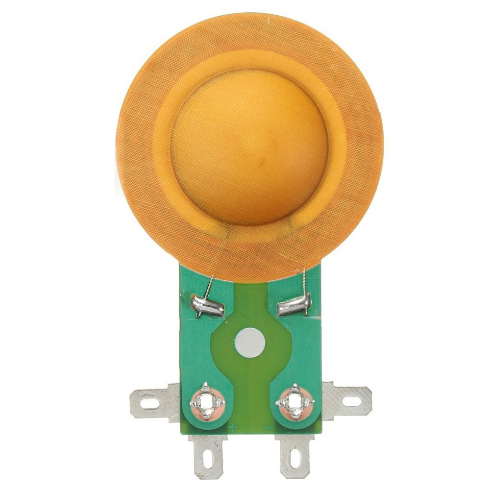 Taidacent 10 Pcs Long Frame Horn Resin Film 1 Inch Voice Coil Stage Tweeter Voice Coil 8 Ohms Drive Head Copper DIY Voice Coil