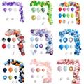 112 шт шаров гирлянды арочный комплект розовый белый латексные золотистые воздушные шары Сделай Сам одежда для свадьбы, дня рождения Декор в...
