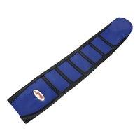 Frete grátis azul listra motocicleta pinça macio capa de assento para yamaha yz450f yzf450 10 11 12 13 motocross da bicicleta sujeira enduro