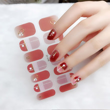 2021 New Arrival Nail Sticker Decal Decorations Designed Full Wraps Shiny Nail Art Multicolor Nail Stickers Manicuring Nail Art