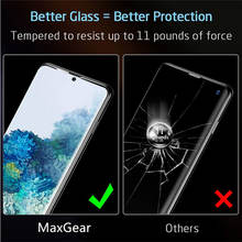 Full Glue Cover Soft Ceramic Tempered Glass For Samsung Galaxy S20 Ultra S20 S10 S9 S8 Note 10 Plus Note 9 8 Screen Protector