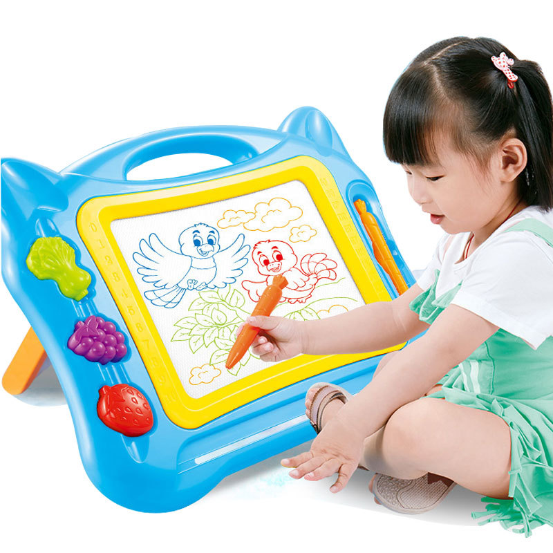 Toys For Children And Infants Color Magnetic Drawing Board Tablet Handwriting Board Educational Toy Painting Doodle Toy