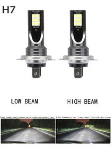 H7 110W Car-Headlight Fog-Light-Kit Beam Front-Bulb 6000K White Super-Bright 2pcs/Set