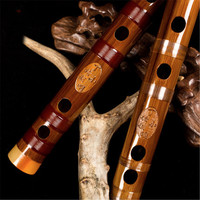 Master degree bamboo flute children's professional adult high end transverse flute musical instruments wooden dizi