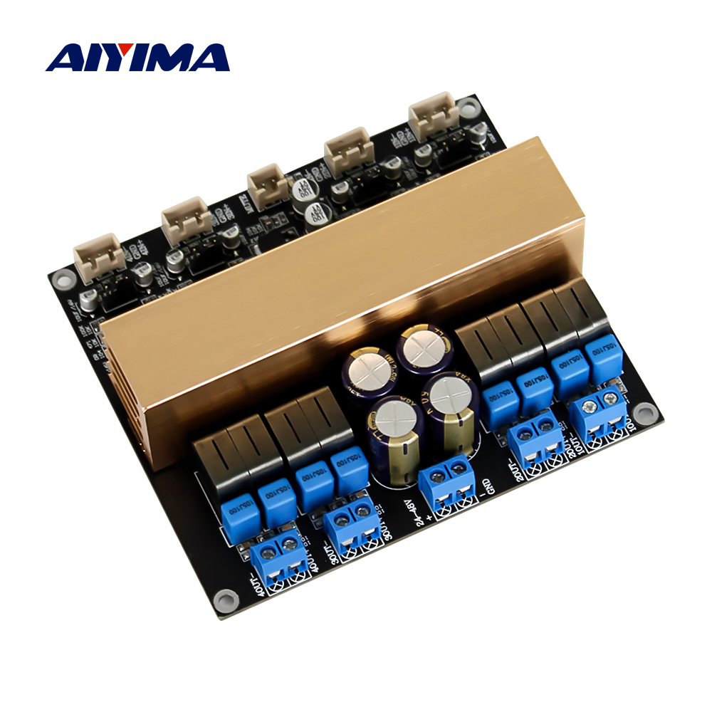 AIYIMA TPA3255 Sound Amplifier Audio Board 315W 4 Four Channel Digital Class D Power Amplifier Speaker Home Theater DIY