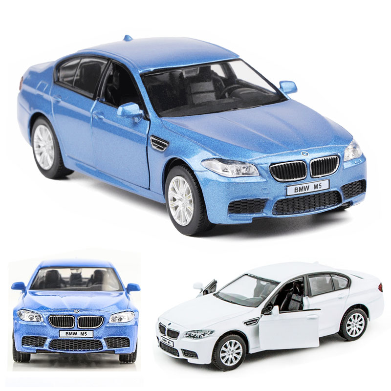 1:36 BMW M5 Car Model Alloy Car Die Cast Toy Car Model Pull Back Children's Toy Collectibles Free Shipping