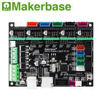Makerbase MKS Robin lite3 32Bit Control Board 3d drucker teile Marlin 2 0 unterstützung WIFI A4988 TMC2208 TMC2209 A4988 DRV8825 auf