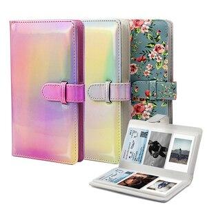 Image 4 - Álbum de fotos de 3 Polegada 96 bolsos, livro de armazenamento para fujifilm instax mini 11 8 9 7s 50 90 mini tamanho de papel do filme