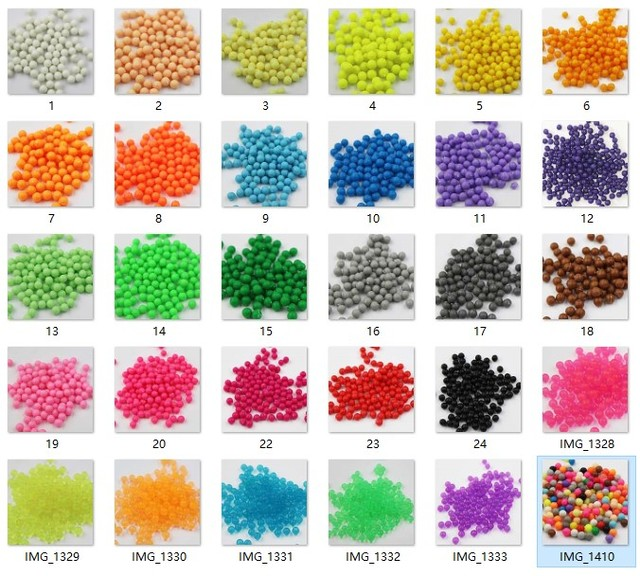 200Pcs/Set 30 Colors 5mm aqua Water beads Spray Perler Magic beads Educational 3D beads Puzzles Accessories for Children Toys