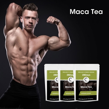 цена на GPGP GreenPeople Men Maca Tea 7/14/28days Pure Natural Herbal Teabag Conditioning Male Functional Improve Immunity Extreme Power