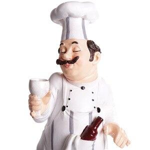 [HHT] Креативные украшения из смолы, статуэтка шеф-повара, украшение для дома, украшение для бара, ресторана, кафе, торта
