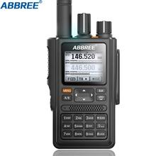 ABBREE AR F8 GPS 6 Bands(136 520MHz) 8W 999CH Multi functional VOX DTMF SOS LCD Color Amateur Ham Two Way Radio Walkie Talkie
