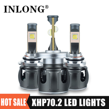 Original Xhp70.2 H7 led canbus H1 9005 9006 Led Headlight Bulb H11 H8 h9 Led Lamp 9012 HB3 HB4 20000LM Headlamp Fog Lights 6000K