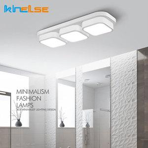 Image 2 - LED סלון מטבח תקרת אורות שלט רחוק ניתן לעמעום אמבטיה Plafon שינה אוכל תאורת מנורות מודרני קישוט
