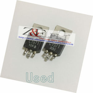Image 1 - C1971  NPN SILICON RF POWER TRANSISTOR / Type No. 2SC1971 (Used ,Short PIN)  50PCS/LOT