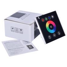 DIY домашнее освещение RGB светодиодный контроллер сенсорной панели светодиодный диммер для DC12V DC24V 5050 3528 светодиодный полосы