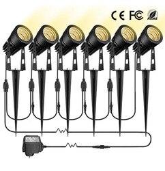 Светодиодный штыревой свет лужайки один волочение четыре прожектора светодиодный прожектор светодиодный от одного до шести дворовых огне...