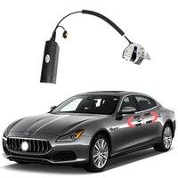 Para maserati quattroporte porta de sucção elétrica automóvel reequipado fechaduras automáticas acessórios do carro inteligência sucção porta