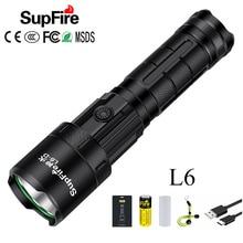 Most Powerful LED Flashlight Tactical Flash Light SST40 3000