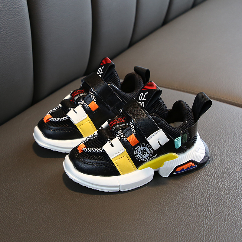 Colorful Breathable Toddler Baby Sneakers 5