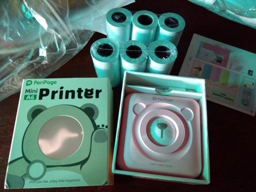 Bluetooth Wireless Small Thermal Printer Picture Mobile Photo Printer Mini Printer Portable Photo Printer for Android iOS phone|Printers| |  - AliExpress