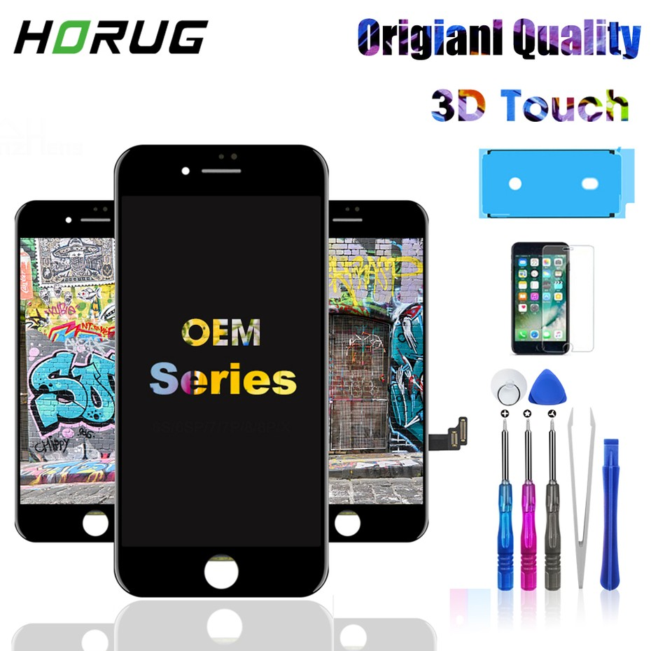 OEM Screen LCD For iPhone 5s SE 6 6s 7 8 Plus Original Color LCD Display Assembly Digitizer With 3D Touch Replacement LCD|Mobile Phone LCD Screens|   - AliExpress