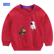 kids sweatshirts hoodie fashion boys wall e autumn funny children cute fall clothes for girls cotton  2019 winter korean baby