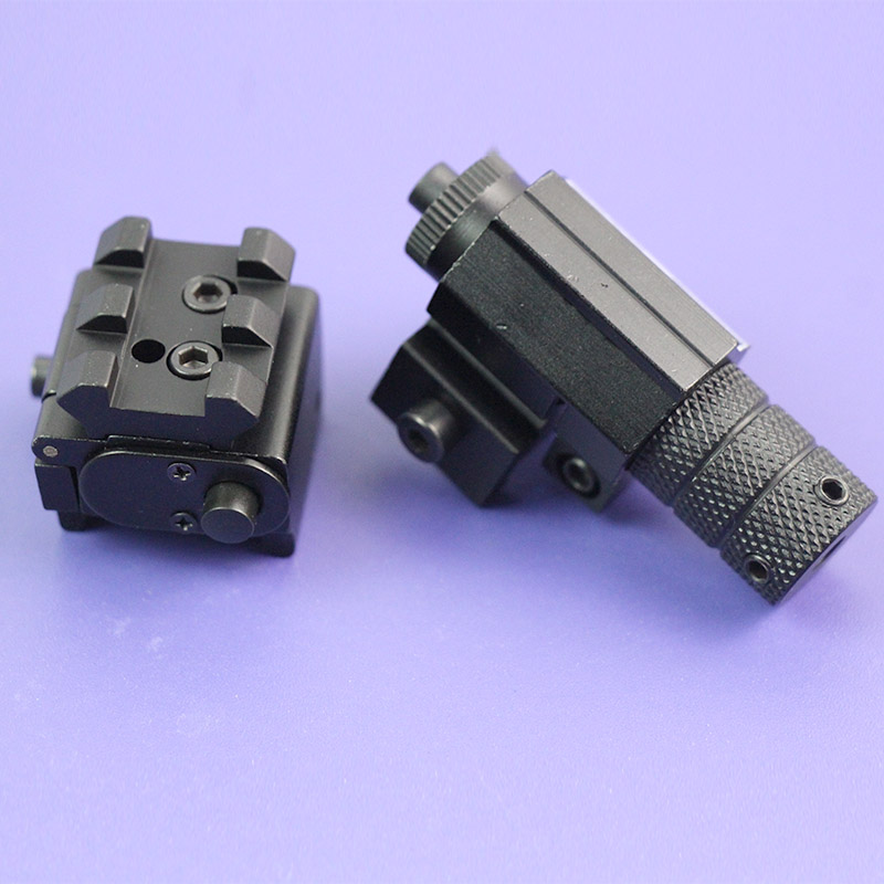 Tactical Red Dot Laser Sight Pointer For Rifle Pistol 20mm Rail Mounts Beam Weaver Picatinny Mount Set Hunting Accessories