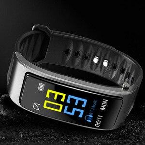 Image 5 - Çok fonksiyonlu 2 In 1 akıllı bilezik ile Bluetooth kulaklıklar kalp hızı monitörü su geçirmez izle açık spor uyku
