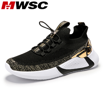 MWSC Comfortable Casual Shoes For Men Summer Breathable Walking Shoes Men Lace Up Running Sneakers Footwear Zapatillas Hombre 2020 men shoes spring autumn running sneakers lace up comfortable casual sports shoes men lightweight walking breathable shoes