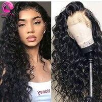 Эва волосы кудрявые полностью кружевные человеческие волосы парики предварительно выщипываются с детскими волосами бесклеевые полные кру...