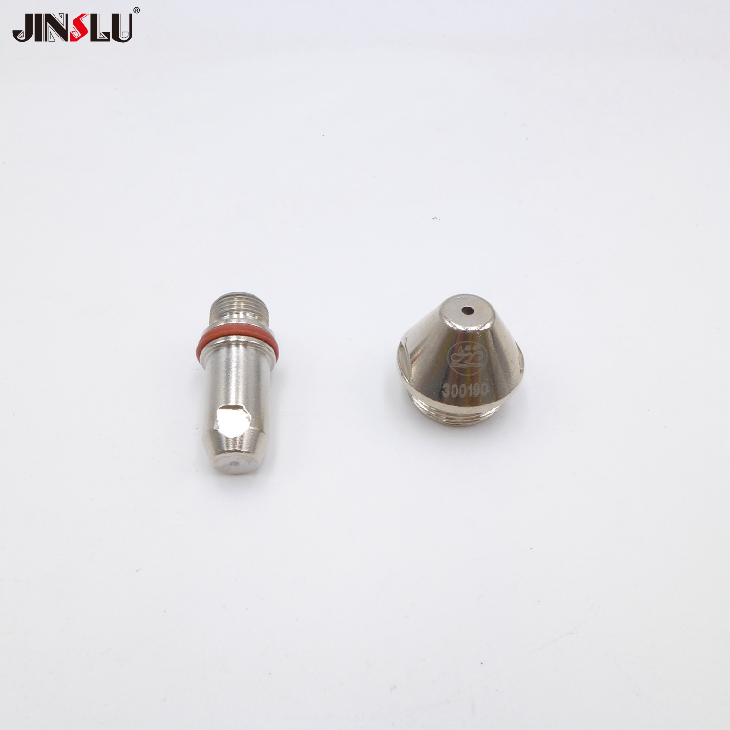 Electrode 300100 10pcs & Nozzle 10PCS (1.5/1.7/1.9/2.1/2.5mm) FOR FY-XF300H FY-XF300 XF-300 Straight Plasma Cutting Machine Gun