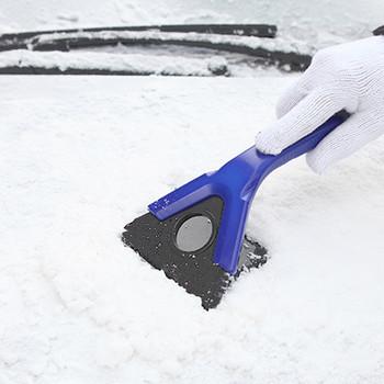 Samochód łopata do śniegu zima Auto pojazd skrobaczka do śniegu i lodu łopata do śniegu szczotka do usuwania narzędzie zimowe nowy # WL1 tanie i dobre opinie wupp Plastic 150g 13cm 24cm Valve Caps Car Mirror Car Charger Car Antenna Usb Lighter Car Door Protector Grips Car Electric Heater
