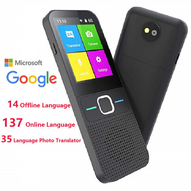 Instant Voice Translator offline Language Translator In Real Time Smart Voice Translator Portable Instant Translators 1