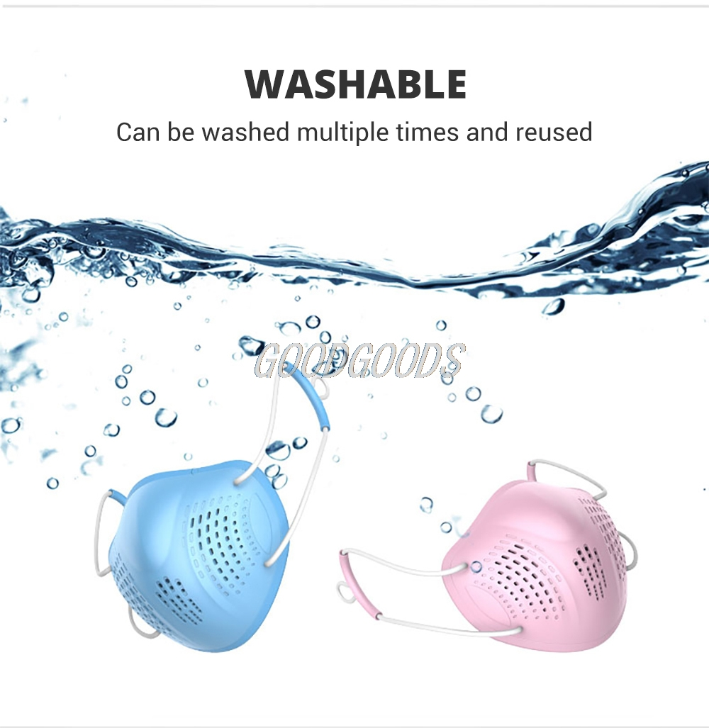 H8e73a53447c4446487226f33a9414c15B Silicon Face Mask Dustproof Mask Facial Protective Cover Washable Masks Anti-Dust Bacteria Proof Facemask PM2.5 Pollution
