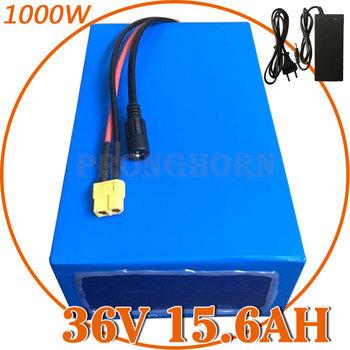 Akumulator 36V 36V akumulator litowy 36V 15Ah akumulator do rowerów elektrycznych 36V 500W akumulator do skutera elektrycznego z ładowarką 42V 2A tanie i dobre opinie Pronghorn CN (pochodzenie) NONE 10-20ah 36 v Bateria litowa 18650 3 7V 2600mah power cell 10S6P 200*120*(70-80)MM (difference + - 5MM)