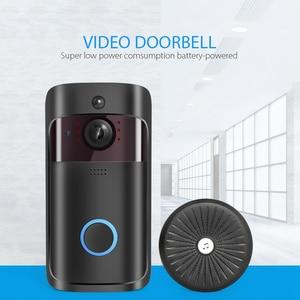 Image 3 - IP וידאו אינטרקום WI FI וידאו דלת טלפון דלת פעמון 720P WIFI פעמון מצלמה עבור דירות IR מעורר אבטחה אלחוטית מצלמה