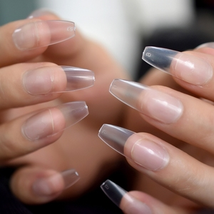 Clear Salon Nails Extra Long C