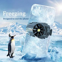 Cell Phone Cooler Radiator for Playing Games Watching Videos Cooler Controller
