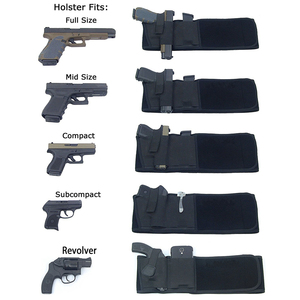 Image 3 - Тактическая кобура для пистолета, военная портативная Скрытая кобура с широким ремнем, кобура для улицы, охоты, стрельбы, защиты