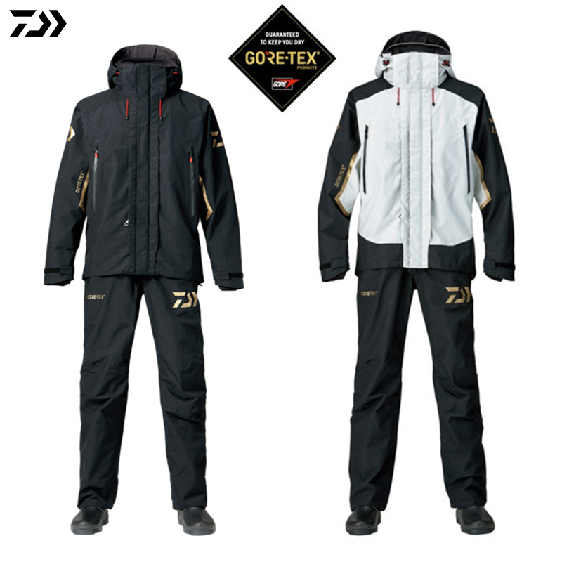 DAIWA 2018 Fishing Jacket and Pants Parka Spring Autumn Outdoors Ultrathin Monolayer Waterproof Windproof Fishing Suit|Fishing Clothings| |  -