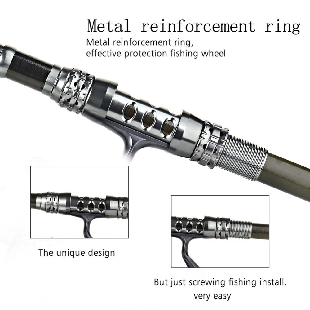 pesca combinação telescópica carpa vara de pesca molinete kit